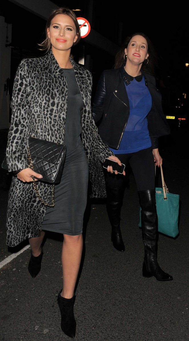 Ferne McCann at The Riding House Cafe-09