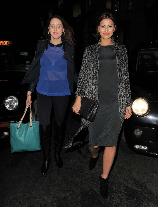 Ferne McCann at The Riding House Cafe-10