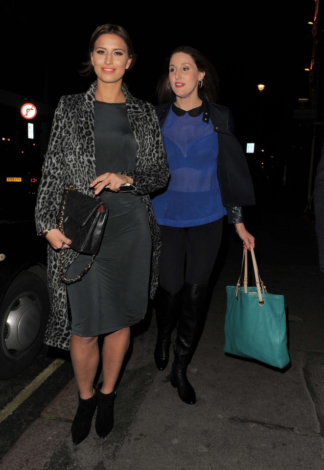 Ferne McCann at The Riding House Cafe-13
