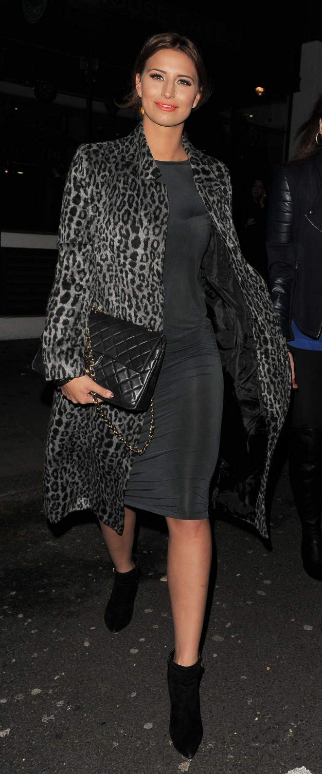 Ferne McCann at The Riding House Cafe-18