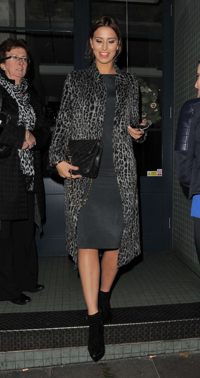 Ferne McCann at The Riding House Cafe-20