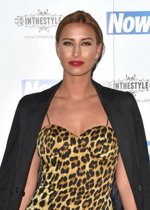 Ferne McCann - Now Christmas Party in London