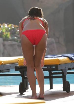 Ferne McCann Bikini Photos: 2014 in Tenerife -07
