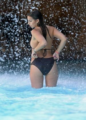 Ferne McCann Bikini Photos: 2014 in Tenerife -09