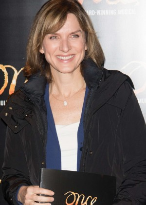 Fiona Bruce - Once Press Night in London