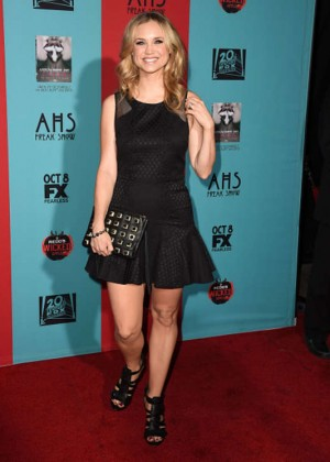 Fiona Gubelmann - American Horror Story Freak Show Premiere in Hollywood