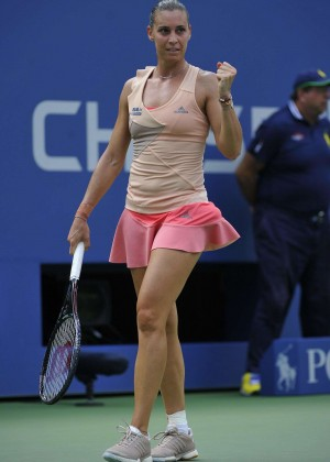 Flavia Pennetta - US Open 2014 Tennis Tournament in New York