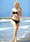Francesca Eastwood - Black bikini in California -04