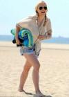 Francesca Eastwood - Black bikini Candids in California-02