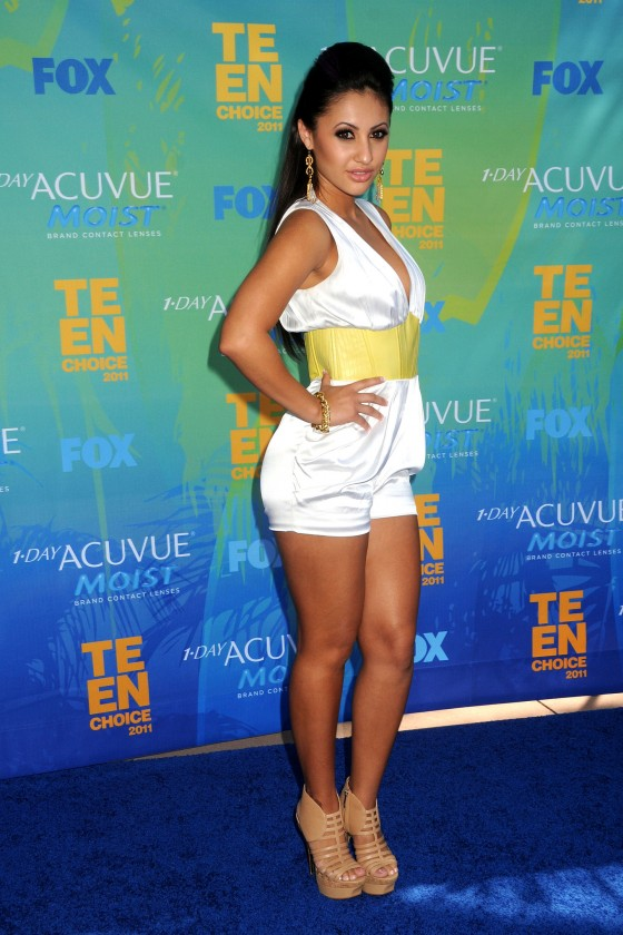 Francia Raisa - 2011 Teen Choice Awards-05