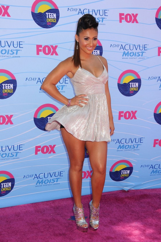 Francia Raisa – 2012 Teen Choice Awards-05