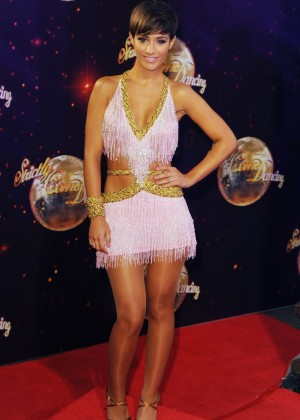 "Frankie Bridge - ""Strictly Come Dancing"" 2014 launch in Borehamwood"