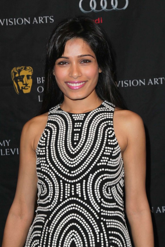 Freida Pinto at BAFTA 2013 Awards Season Tea Party in Los Angeles