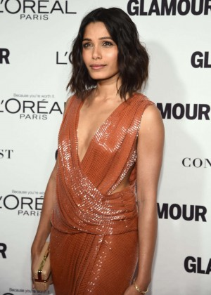 Freida Pinto - Glamour 2014 Women Of The Year Awards in New York