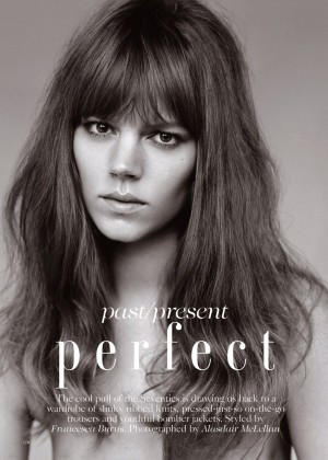 Freja Beha Erichsen - Vogue UK Magazine (January 2015)