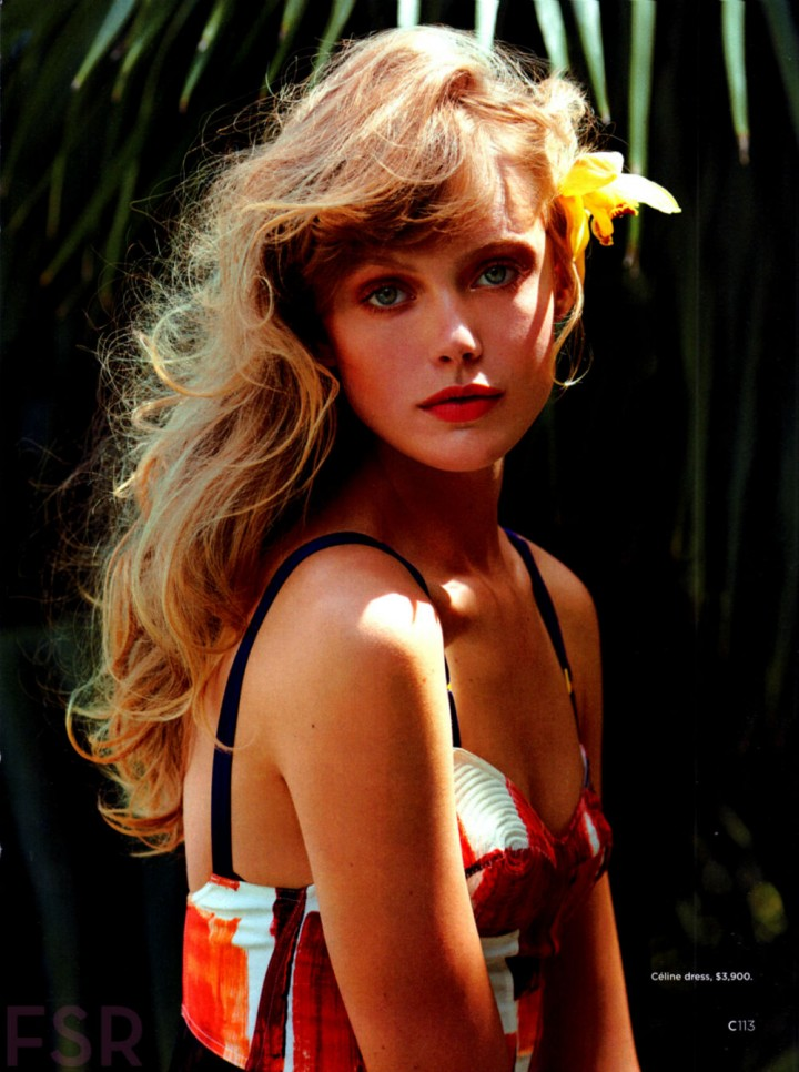 Frida Gustavsson for California Style Summer 2014 by Hilary Walsh
