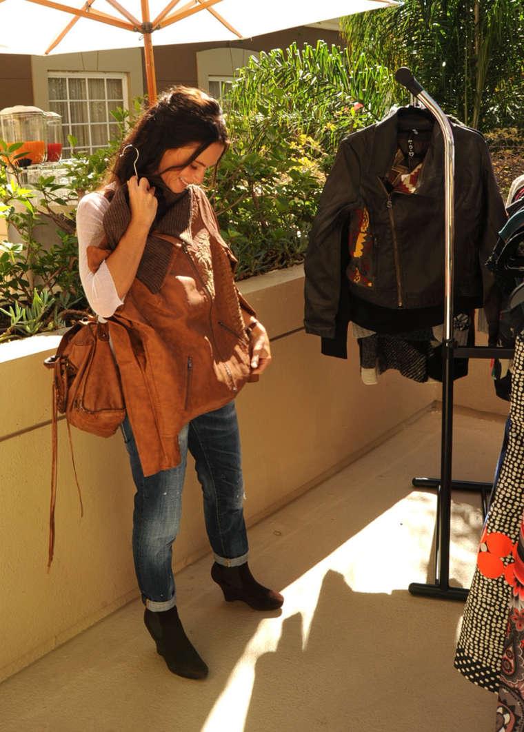 Gabrielle Anwar 2014 : Gabrielle Anwar: HBO Luxury Lounge -05