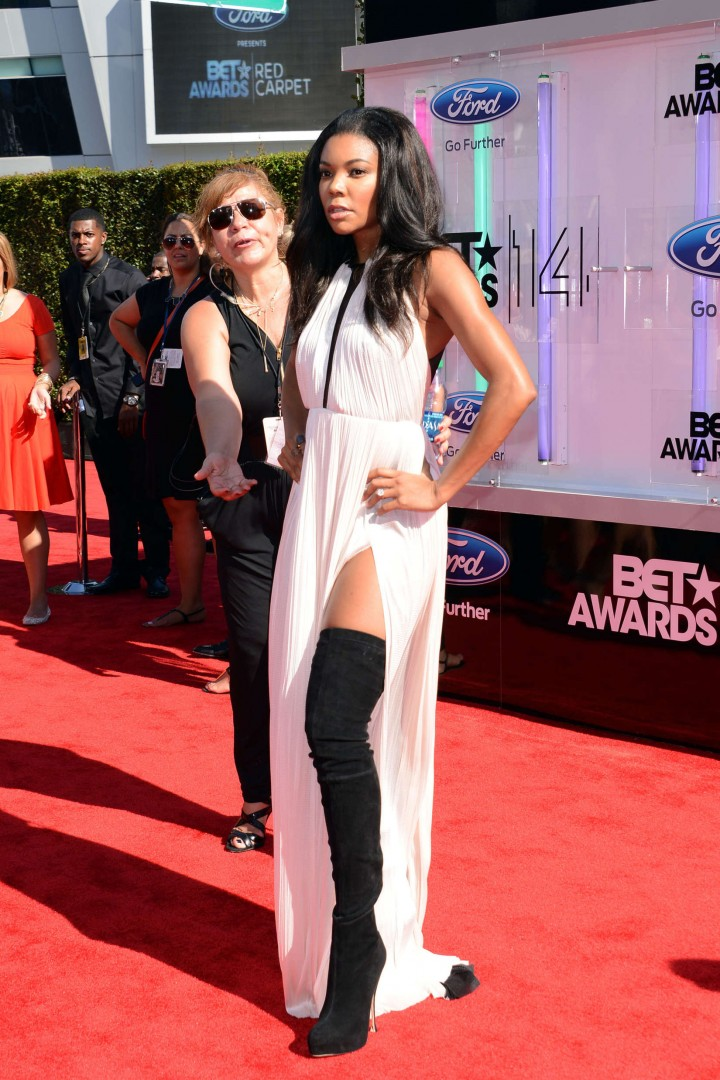 Gabrielle Union - BET Awards 2014 in LA -04 - GotCeleb