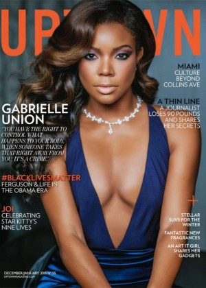 Gabrielle Union - Uptown Magazine Cover (January 2015)