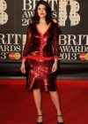 Gemma Arterton attends the Brit Awards at 02 Arena in London -01