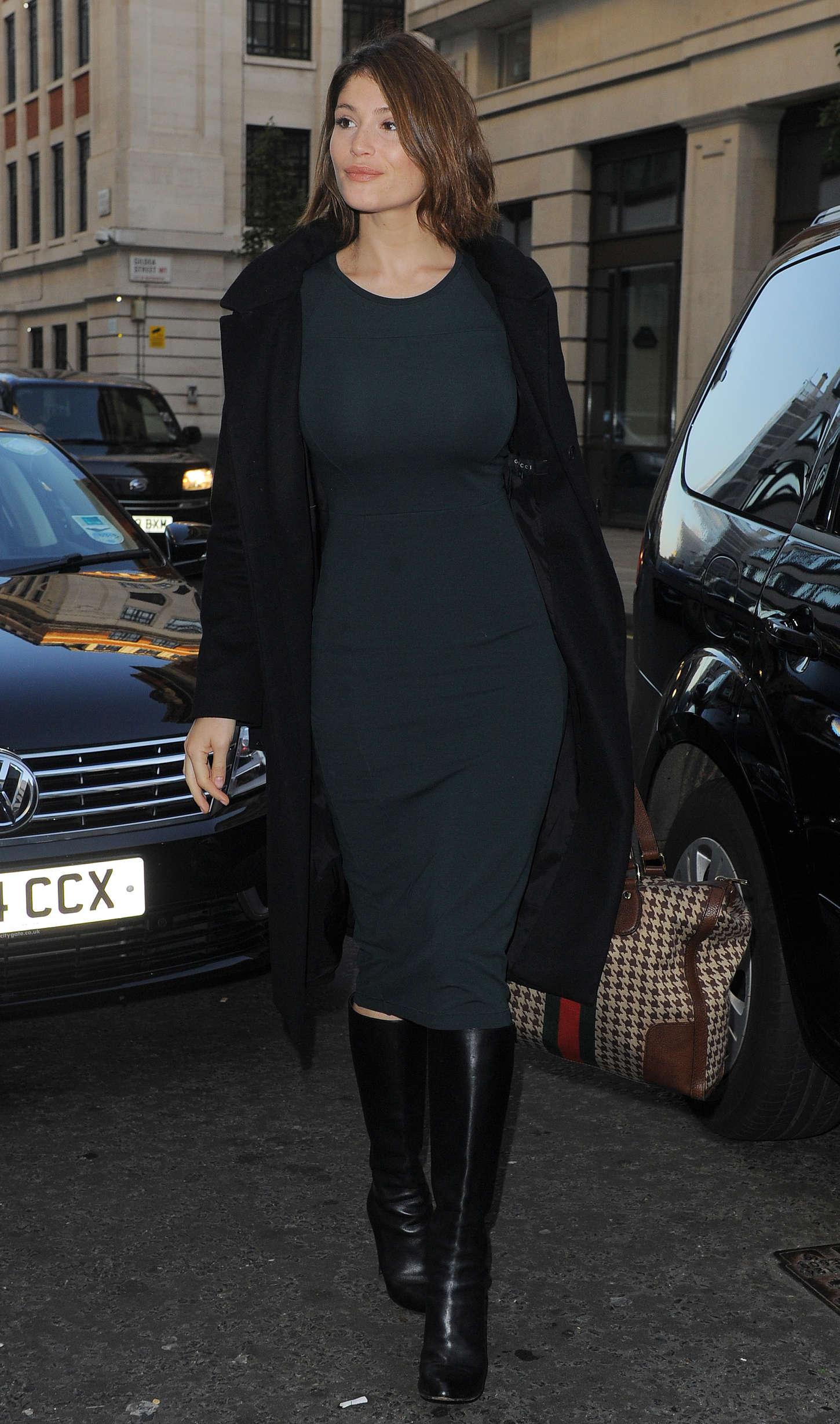 Gemma Arterton in Green Tight Dress -12 - GotCeleb
