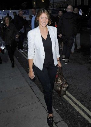 Gemma Arterton at the Kate Bush concert in London