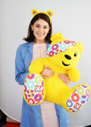 Gemma Arterton - BBC Children in Need in London