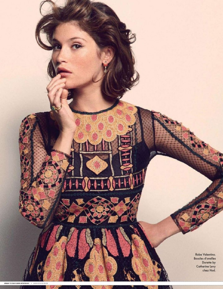 Gemma Arterton - ELLE France Magazine (August 2014)