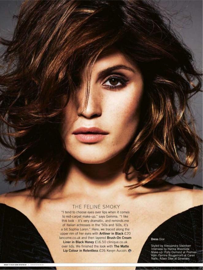 Gemma Arterton - Glamour Magazine (December 2014)