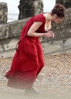 Gemma Arterton - Cleavage and Leggy On The Set Of Byzantium-02