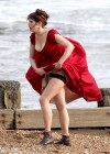 Gemma Arterton - Cleavage and Leggy On The Set Of Byzantium-05