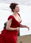 Gemma Arterton - Cleavage and Leggy On The Set Of Byzantium-13