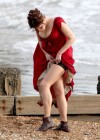 Gemma Arterton - Cleavage and Leggy On The Set Of Byzantium-16