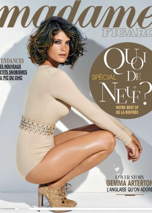Gemma Arterton - Madame Figaro Magazine (France August 2014)