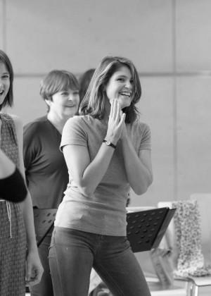 Gemma Arterton: Made In Dagenham Rehearsals -02
