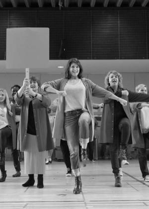 Gemma Arterton: Made In Dagenham Rehearsals -05