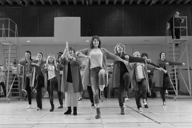 Gemma Arterton: Made In Dagenham Rehearsals -05