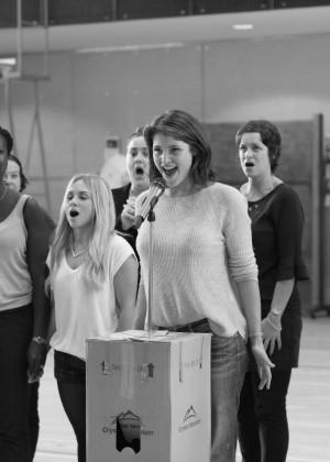 Gemma Arterton: Made In Dagenham Rehearsals -08