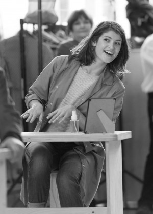 Gemma Arterton - Behind the scenes at Made In Dagenham Rehearsals