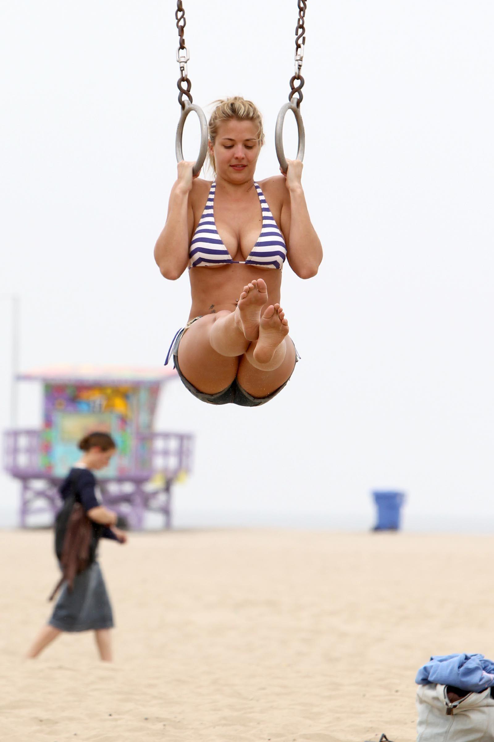 Consider, gemma atkinson striped bikini idea congratulate