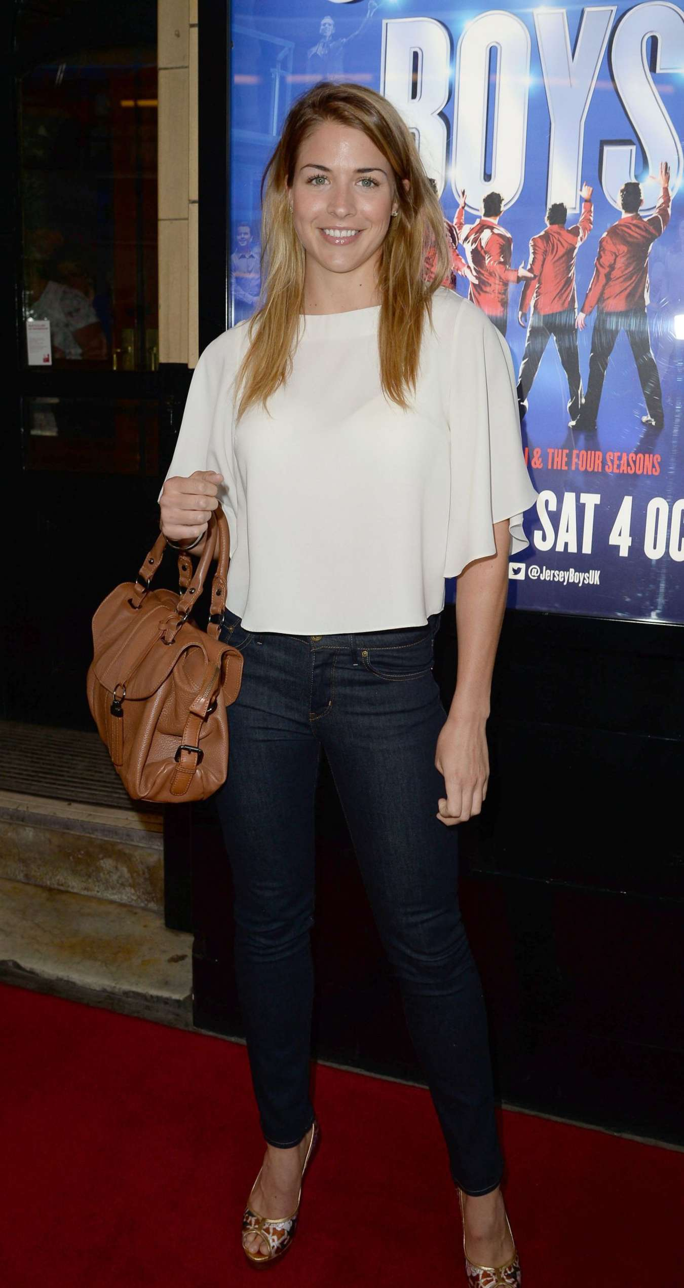 Gemma Atkinson - Jersey Boys Press Night in Manchester