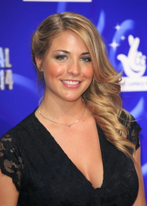 Gemma Atkinson – National Lottery Awards 2014