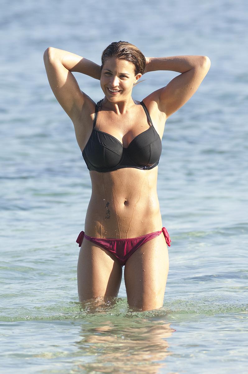 Gemma Atkinson 2014 : Gemma Atkinson in bikini -10