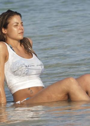 Gemma Atkinson Bikini Photos: 2014 Bali -02