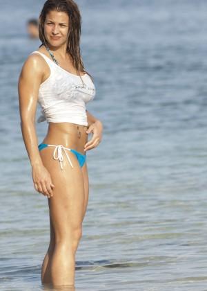 Gemma Atkinson Bikini Photos: 2014 Bali -03