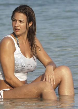 Gemma Atkinson Bikini Photos: 2014 Bali -06