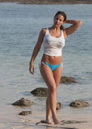 Gemma Atkinson Bikini Photos: 2014 Bali -07