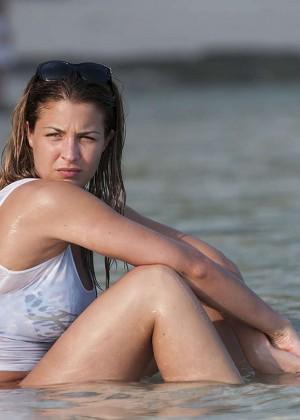 Gemma Atkinson Bikini Photos: 2014 Bali -10