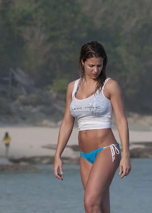 Gemma Atkinson Bikini Photos: 2014 Bali -15
