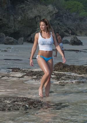 Gemma Atkinson Bikini Photos: 2014 Bali -26